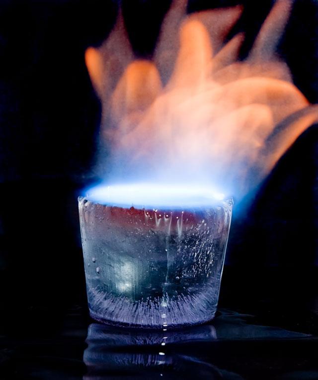 Картинки горящего льда